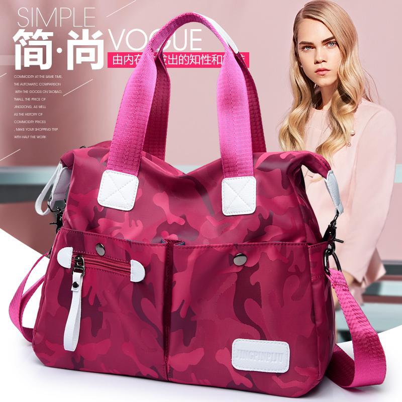 2018 model baru Gaya Korea tas bahu dengan satu tali tas selempang modis  Kain Oxford tas ... 590baff208