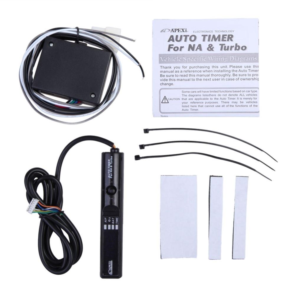 Universal Apexi Auto Turbo Timer for NA Pen Control JDM Blue Digital ...