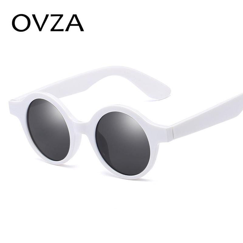 Ovza Bulat Matahari Kacamata untuk Pria Antik Kacamata Hitam Wanita Retro  Merah Kacamata Hitam Wanita Klasik 9220335ed4