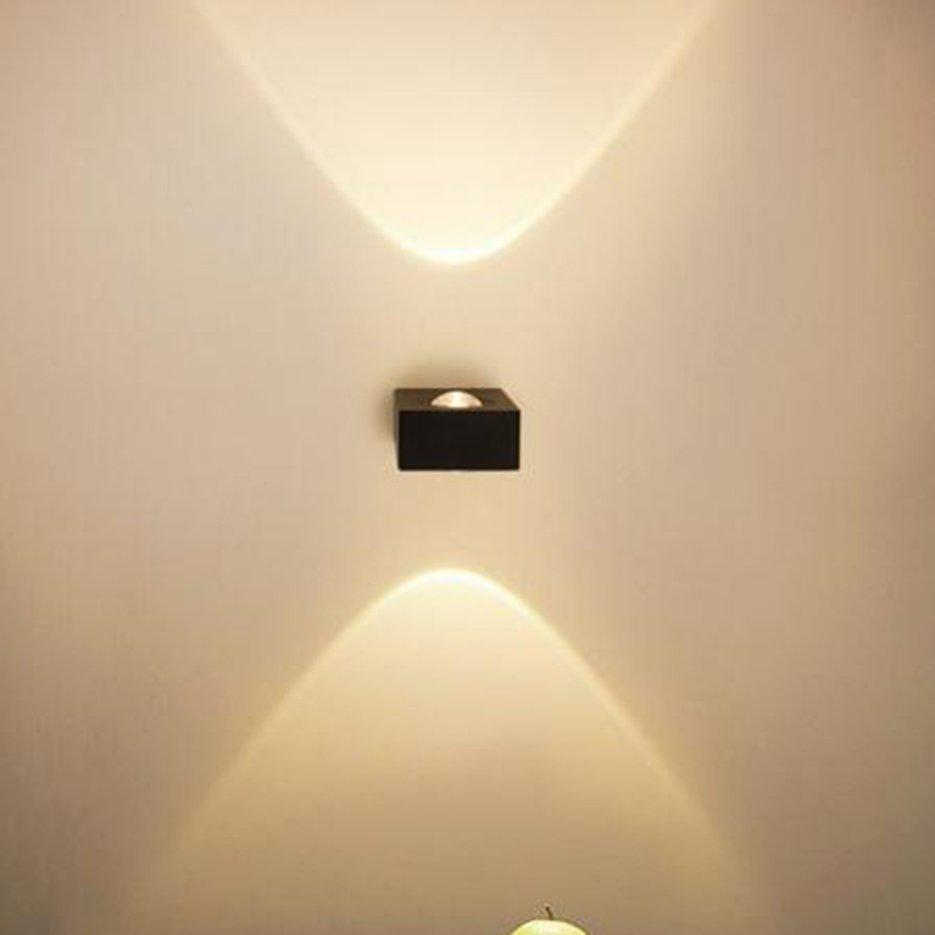 Hot Sellers Creative Single Side LED Wall Light Bedroom Porch Hotel Sconces Lamp