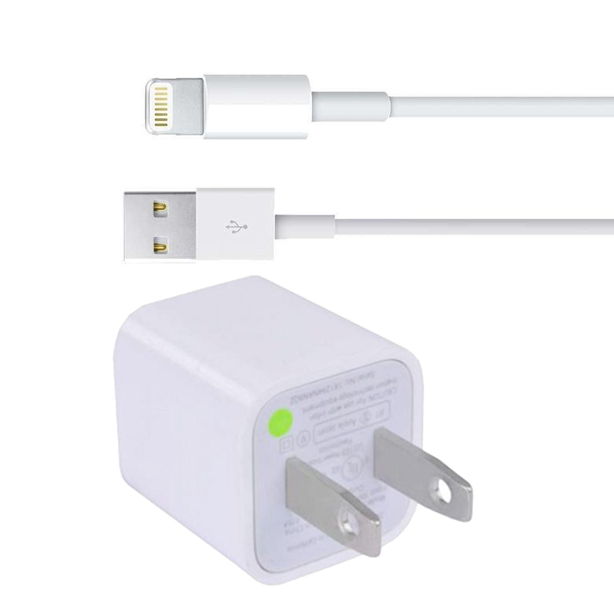 Original Apple 5W Charger with Lightning Cable for iPhone 5/5c/6/6+/7/7+ - 3