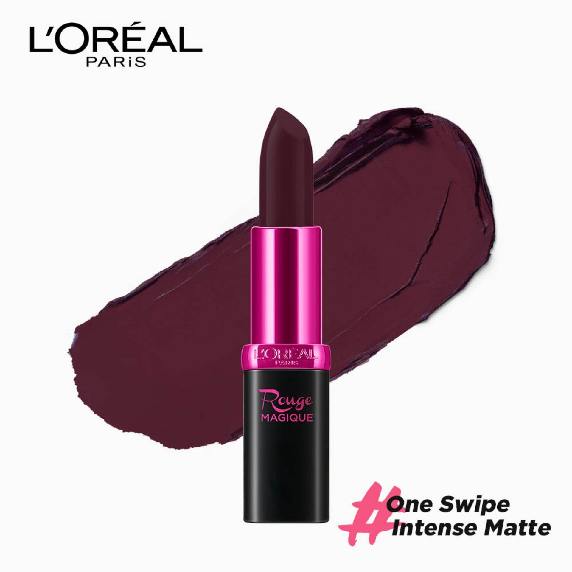 Rouge Magique Matte Lipstick - The Fort 901 [#OneSwipeIntenseMatte]  by LOréal Paris Color Riche Philippines