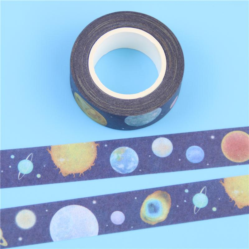 Mua Diy Adhesive Tape Beautiful Lonely Planet Paper Japanese Style Washi Tape Scrapbooking Stickers - intl