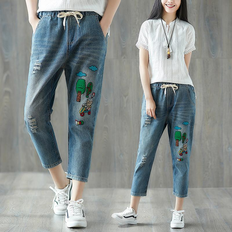 Buy Sell Cheapest Mm Jeans Bordir Best Quality Product Deals