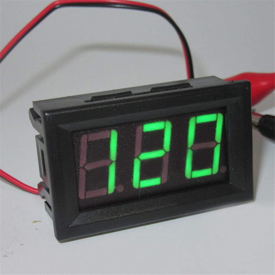 AC 70-500V Digital Voltmeter LED Display Panel 2 Wire Volt Voltage Test  Meter - intl