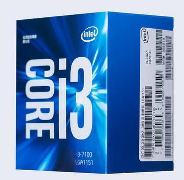 Intel I3 7100 Core 7 Generasi Kotak Prosesor 1151-Pin CPU Paket Asli