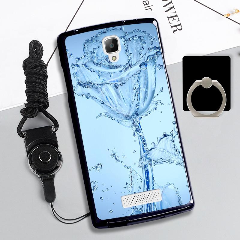 Features Silica Gel Soft Phone Case For Oppo R831 With A Rope