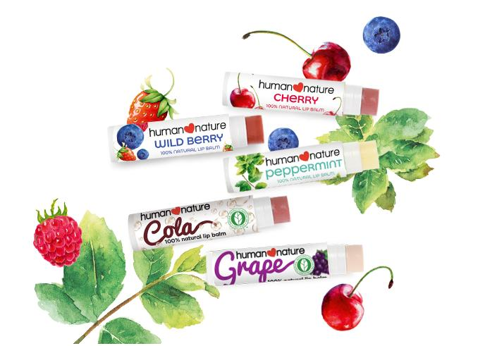 Human Heart Nature 100% Natural Flavored Lip Balm 4g Philippines