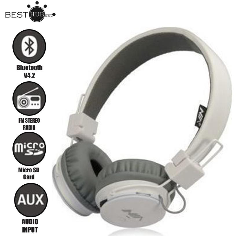 NIA Q8 Sport Stereo Headphone Over-The-Ear Bluetooth Headphones with Call function,