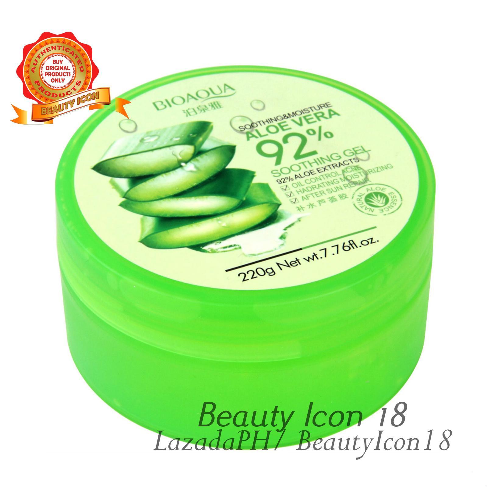 Buy Sell Cheapest Bioaqua Soothing Moisturizing Best Quality Aloe Vera Shooting Gel Original Moisture Whitening 220g