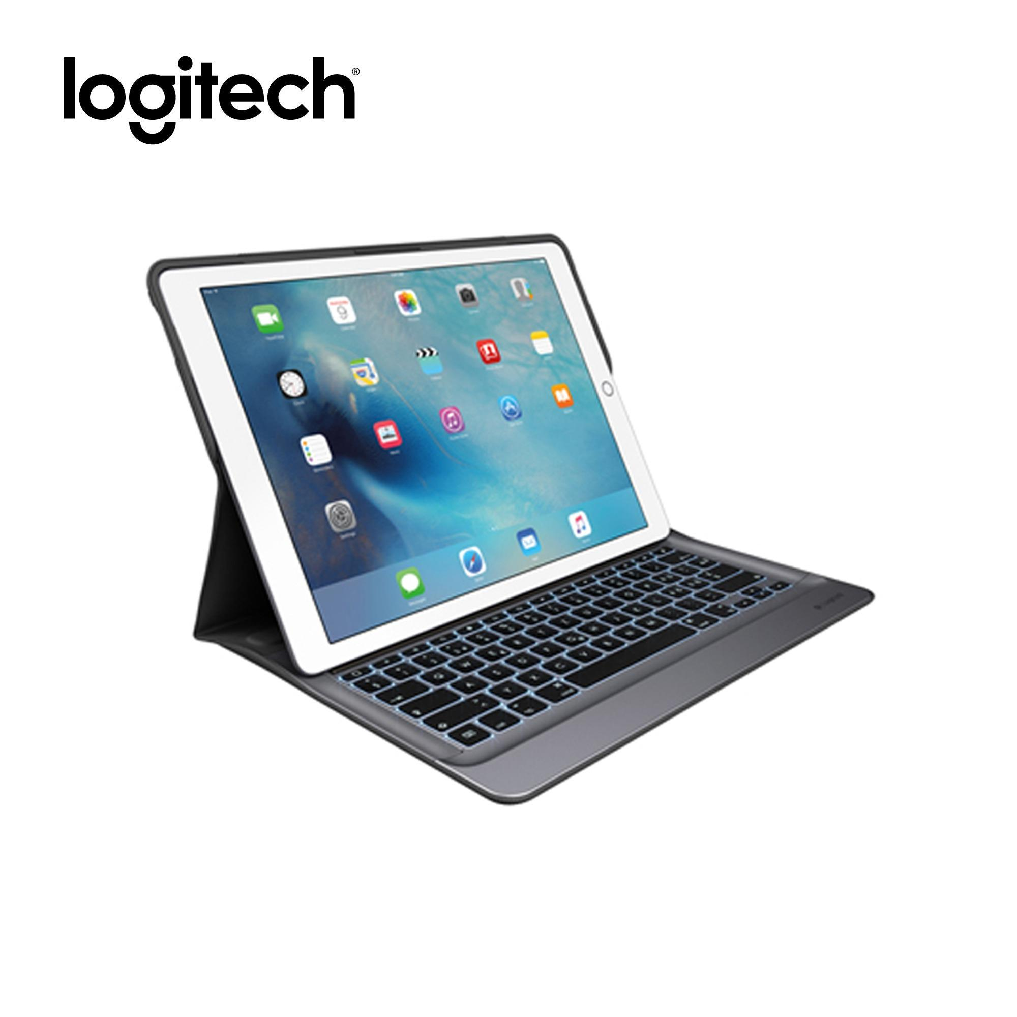 4966a52332bf4 Logitech Create Backlit Keyboard Case with Smart Connector for iPad Pro  12.9