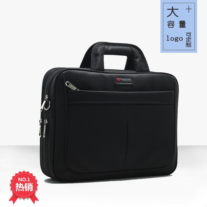Tas Tas Laptop Pria Kanvas Bisnis Lift Bisnis untuk Membungkus Daftar Bahu Ku Kain Oxford Besar kapasitas Membuat untuk Order untuk Mencetak Kata 3 Dolar-Internasional