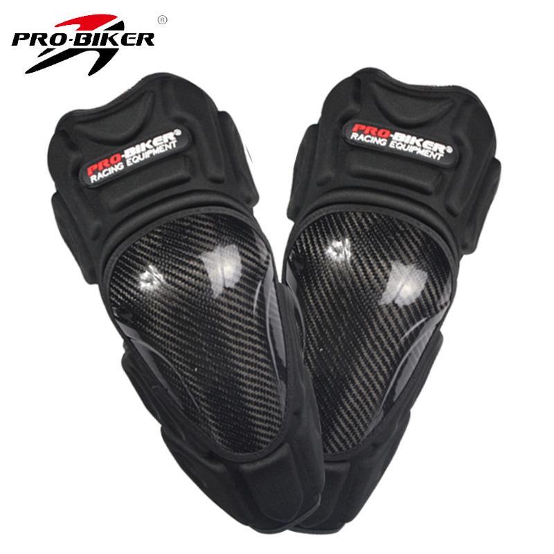 Sepeda motor pelindung lutut deker siku 4Pcs/Set alat pelindung tahan angin .