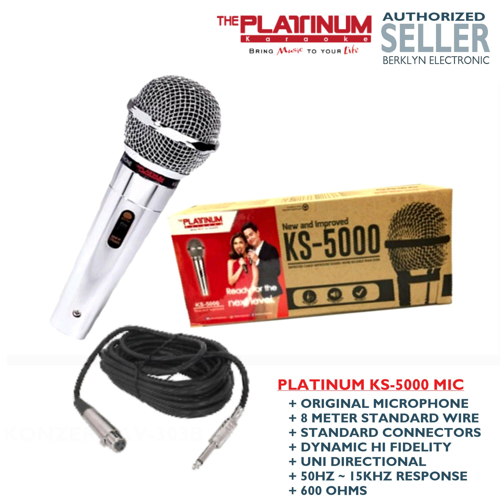Platinum Philippines Karaoke Player For Sale Prices K40 Mic Wiring Diagram Ks 5000 Dynamic Microphone 8 Meter Standard Cable