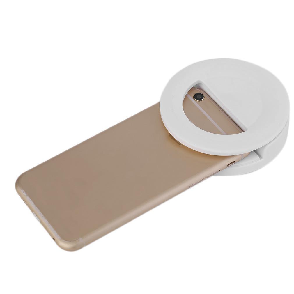Mobile Phone Led Selfie Lamp Ring Light Portable Radian Light Selfie Light By Chunzao.