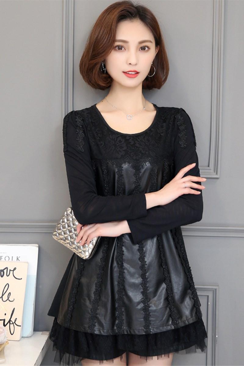 Wanita modis Gaya Barat kemeja kecil Lengan panjang 2018 busana musim gugur model baru Gaya Korea
