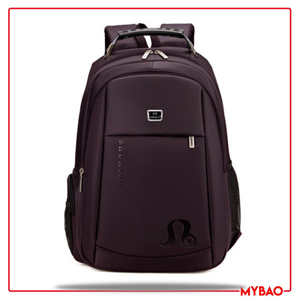 c20f722ab65c SHUAIBO Men Polyester Backpacks Large Capacity 14 Inch Laptop Backpack  Brand Korean Middle School Bag 605