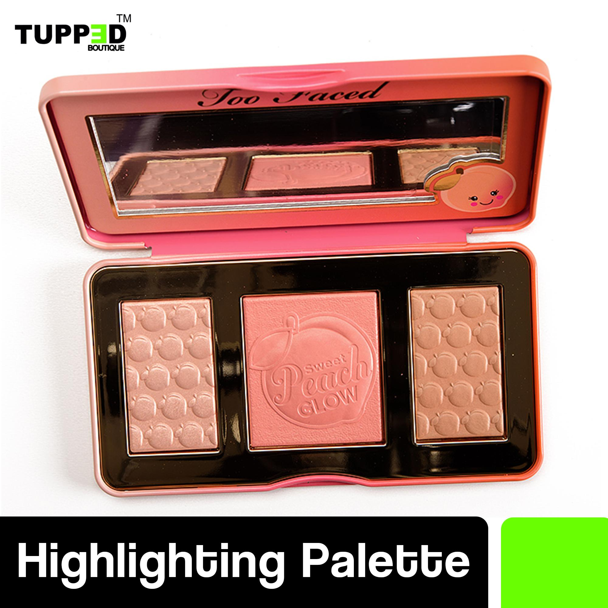 Too Faced Sweet Peach Glow Peach-Infused Highlighting Palette Philippines