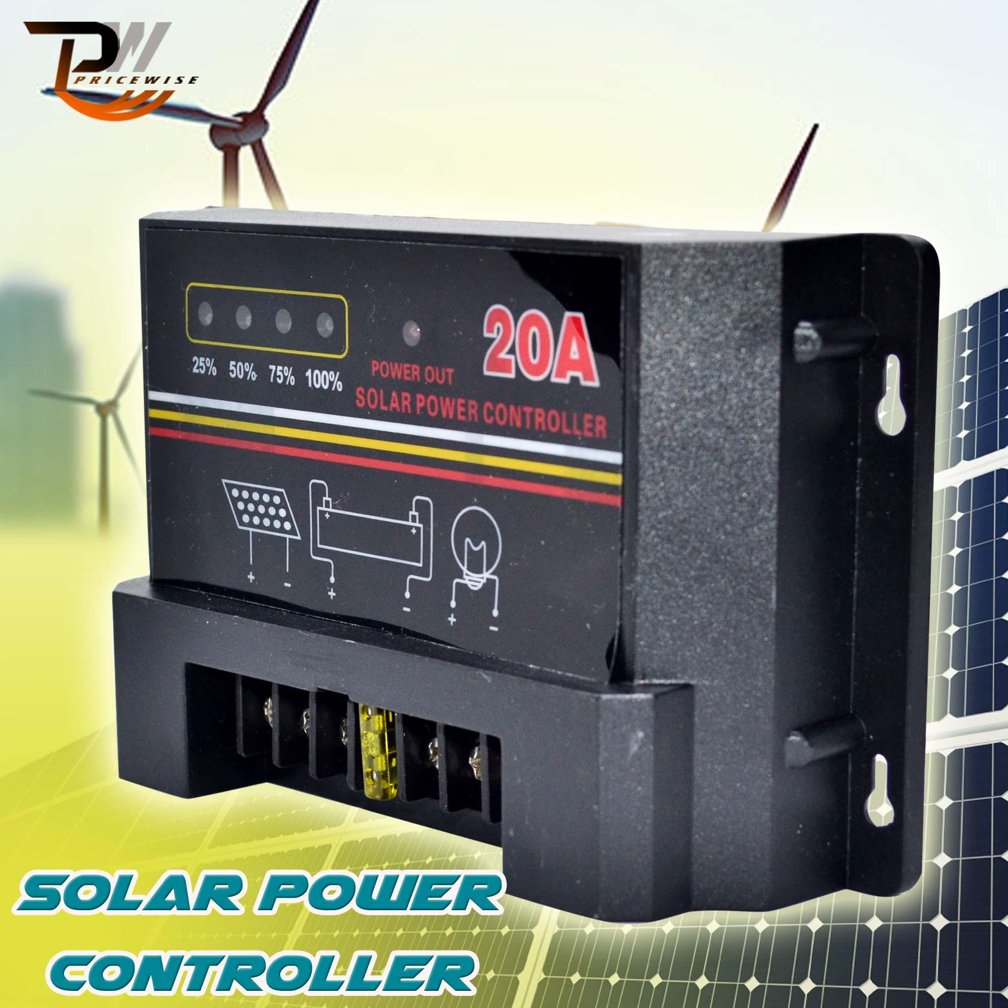 Buy Sell Cheapest Pwm Solar Charge Best Quality Product Deals Details About 30a Controller Regulator 12v 24v 30amp 20a 12 V 24 Auto