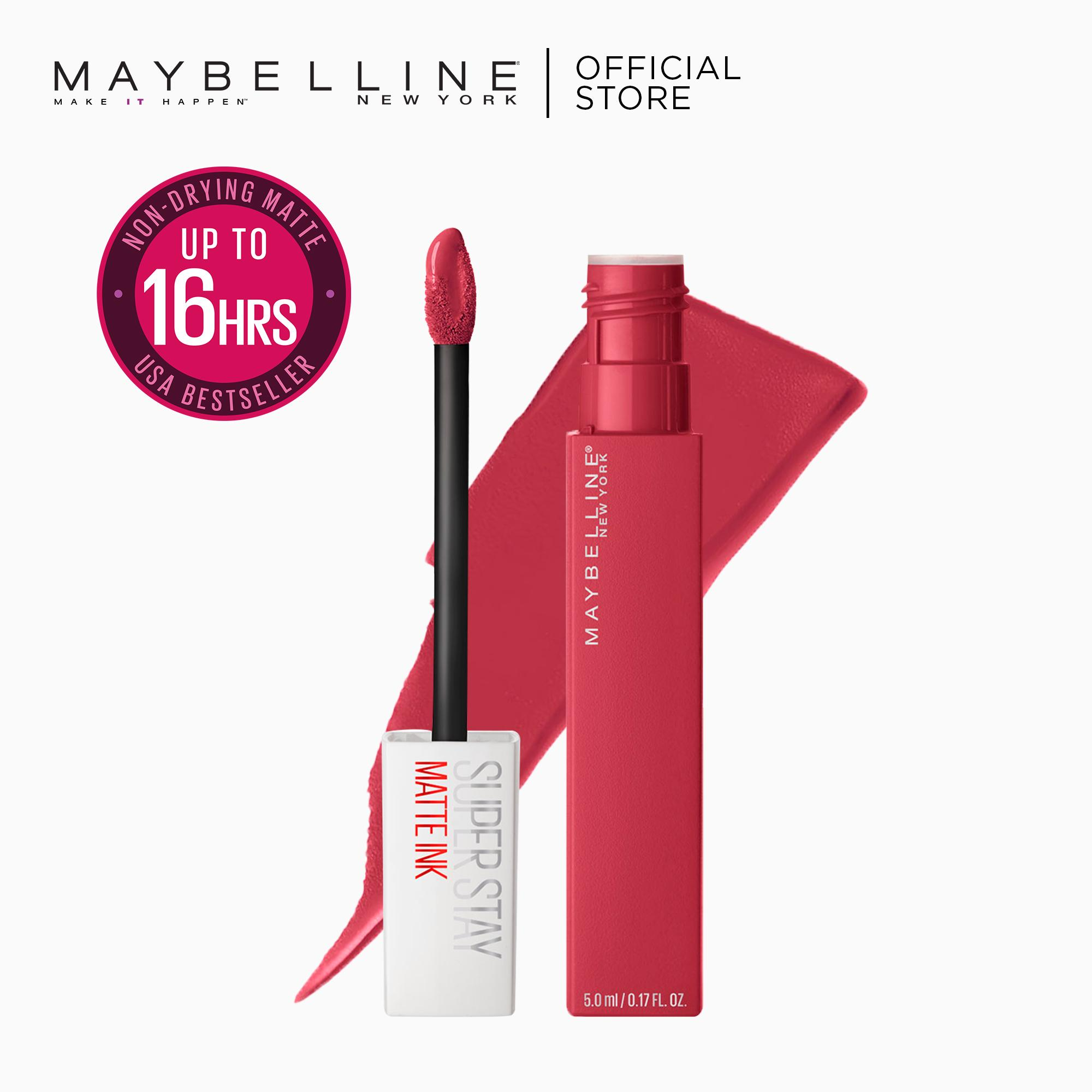 SuperStay Matte Ink Unnude Liquid Lipstick [16HR Waterproof] by Maybelline Philippines