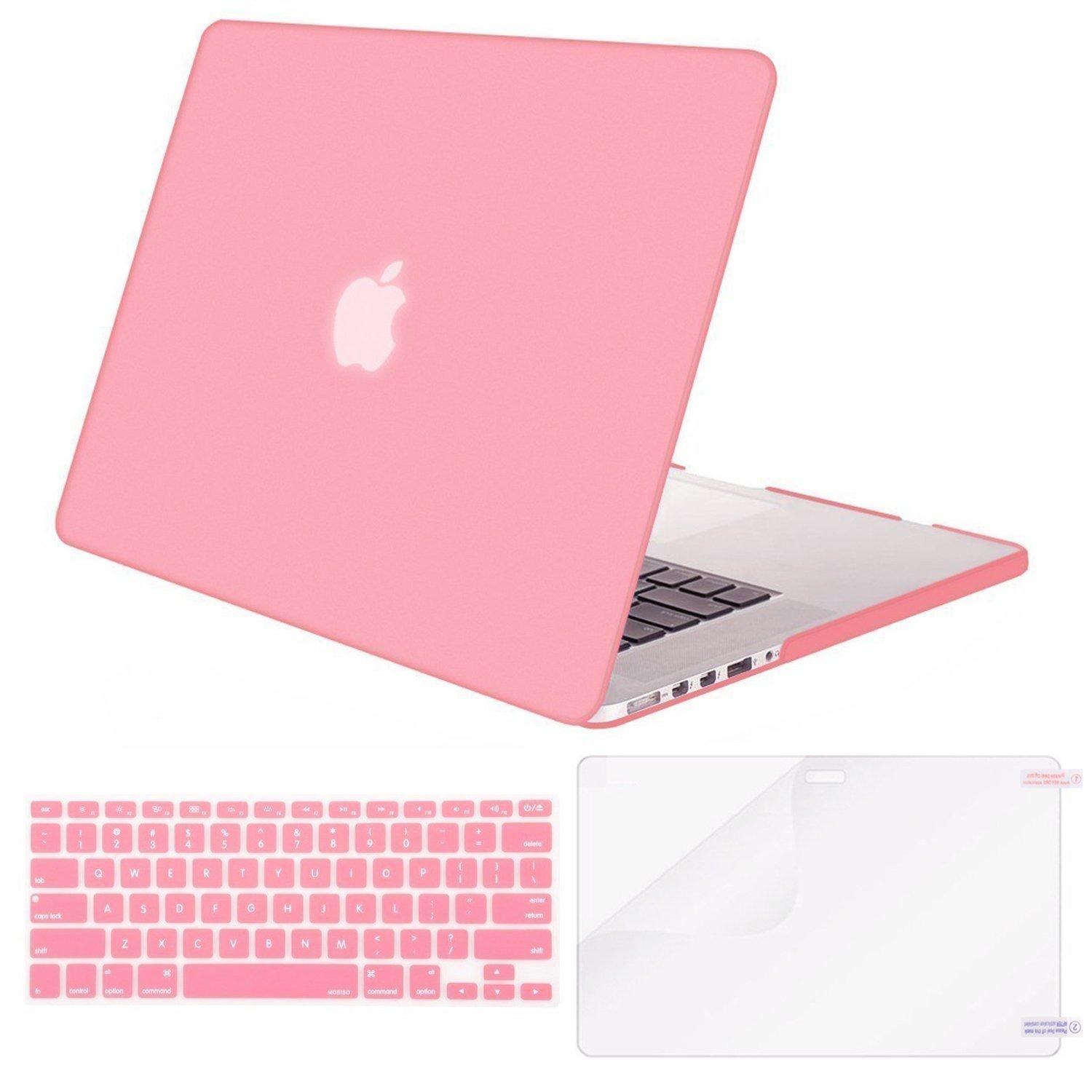 ... Keyboard Cover and Screen Protector. MacBook Air 13 Case Transparent Frosted Plastic Hard Shell Case Cover Bundle for Apple MacBook Air