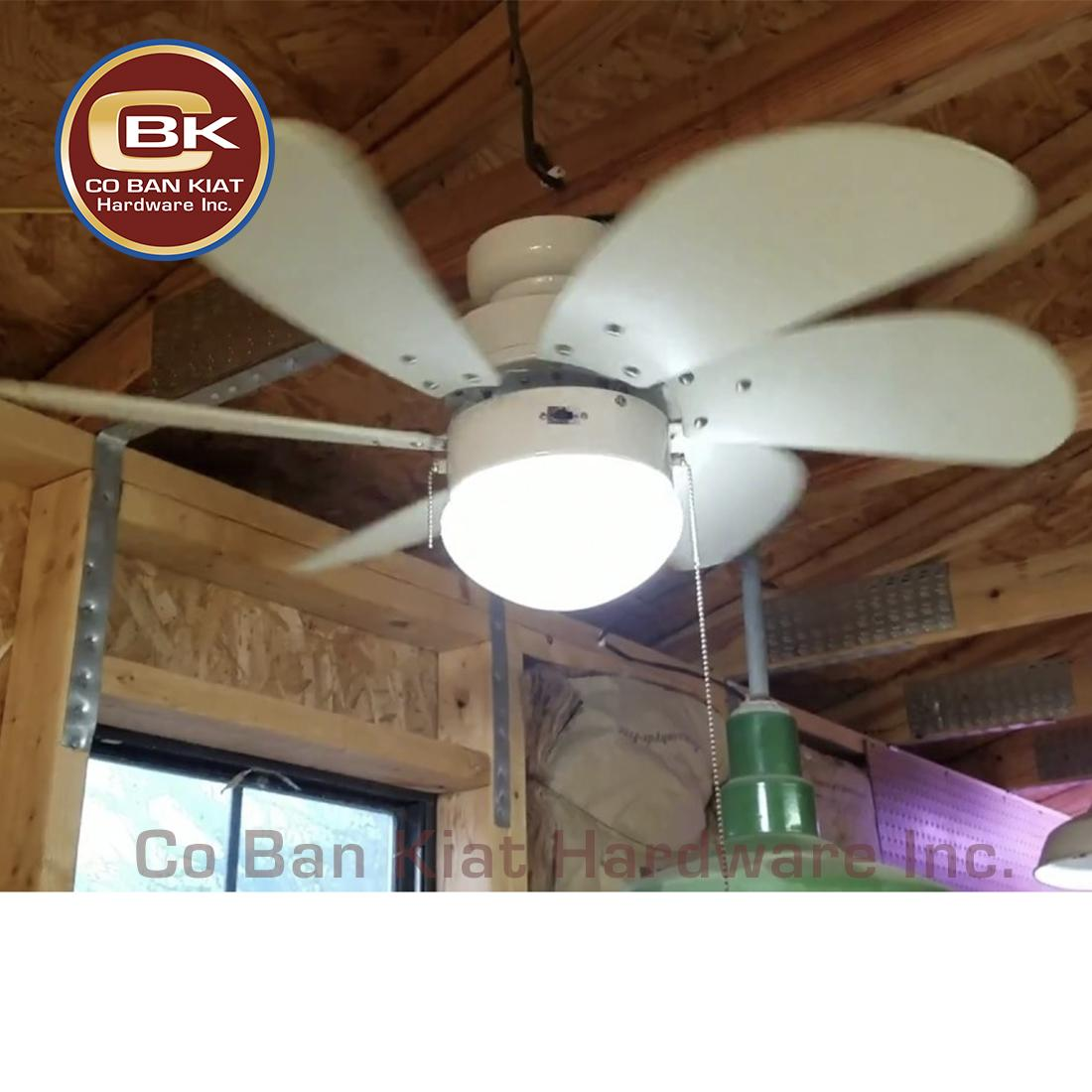 Westinghouse Comet Ceiling Fan 52 78016matte Black Led Bulb Hanabishi Electric Capacitor 30 Turbo Swirl 78145 Six Wooden Blades With Light Kit To Cool