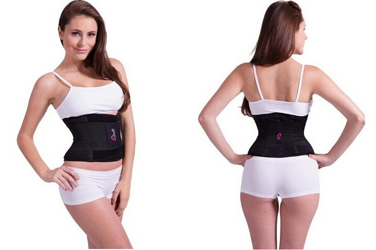 b3e34b7e40 Miss Belt Women Waist Trainer Cincher Belt Fitness Body Shaper ...