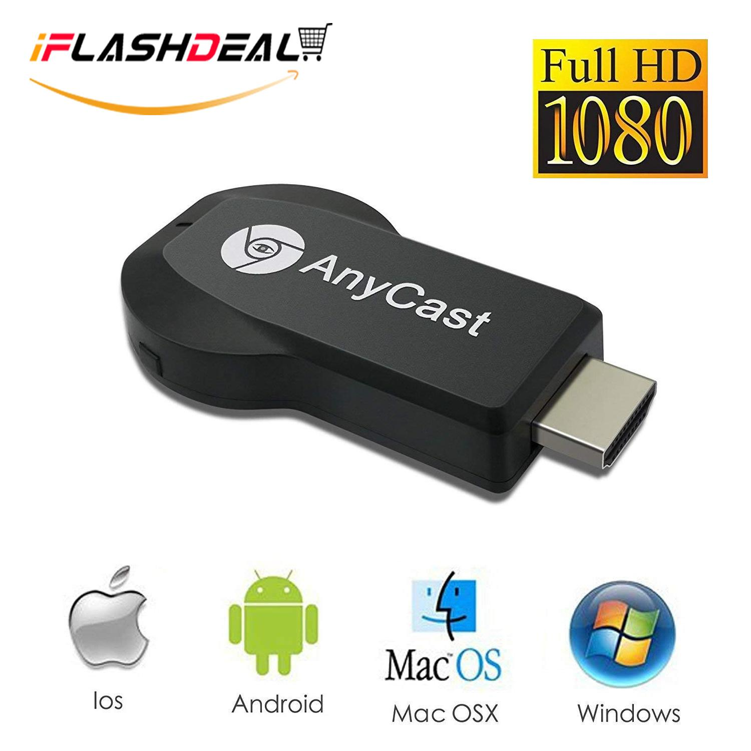 Iflashdeal Display Wifi Nirkabel Adaptor M9 Airplay Wifi Display Dongle Tv Hdmi, Dukungan Online By Iflashdeal.