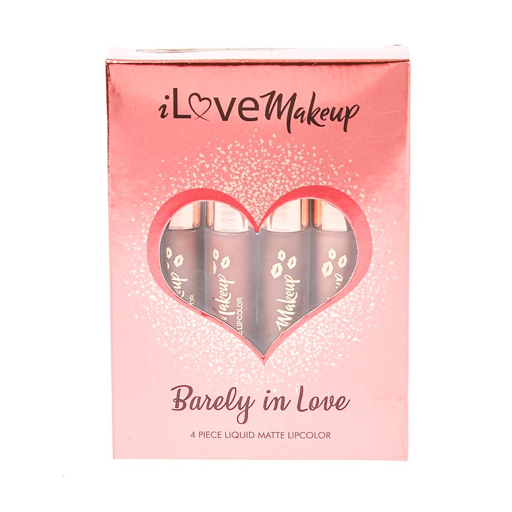 I Love Makeup Barely In Love Mini Lipstick Set Philippines