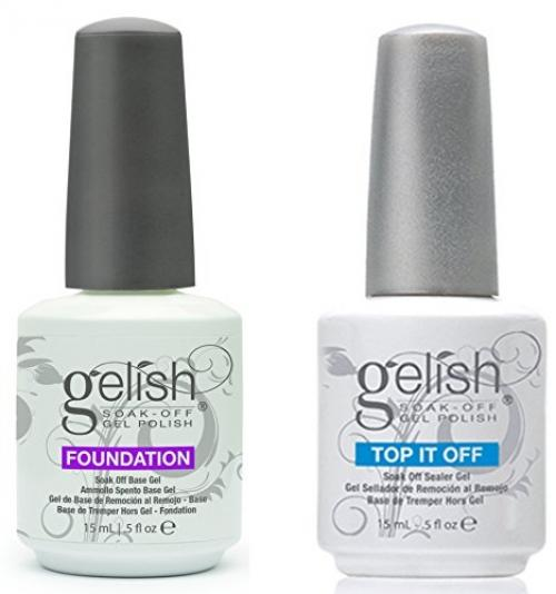Gelish Dynamic Duo Soak Off Gel Nail Polish - Foundation Base and Top Sealer Philippines