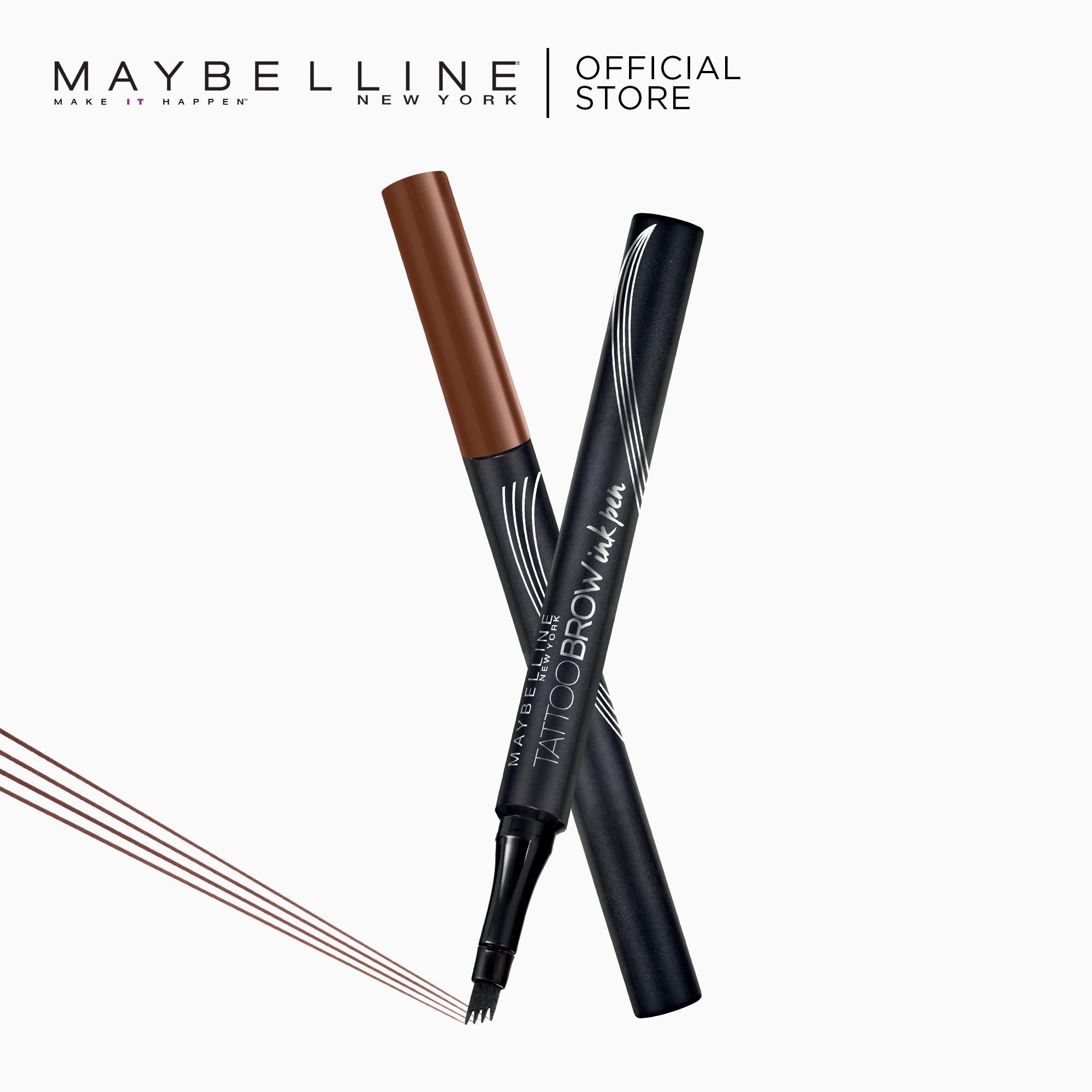 Tattoo Brow Ink Pen - Red Brown [Long-Lasting Brows] by Maybelline Philippines