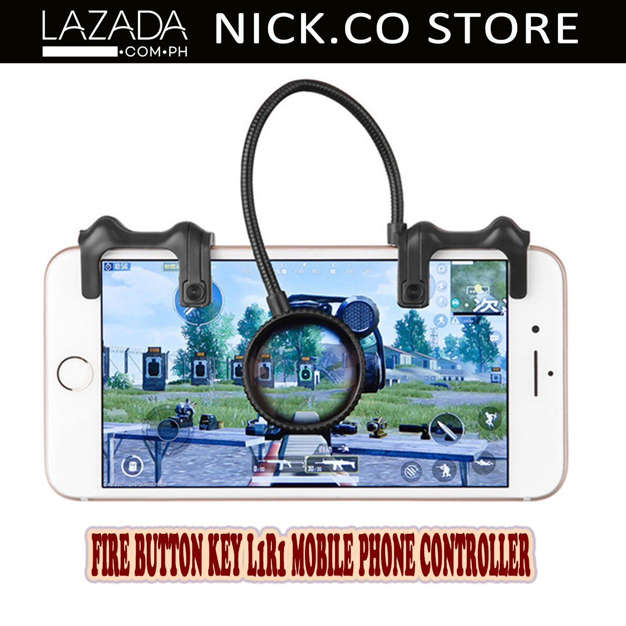 Promotions Catalogs L1 R1 Sharp Shooter Pubg Mobile Joystick Rule Of Survival Versi 3 Key Buttons Cell Phone Game Controller For All Android Magnifying Glass