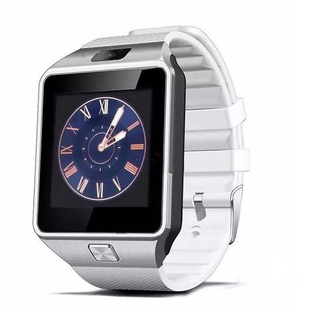 Smartwatch Pria Wanita DZ09 Jam Cerdas 2G Kamera Kartu SIM Jam Tangan Pintar untuk iPhone Samsung Huawei Jam Tangan Android Bluetooth Telepon