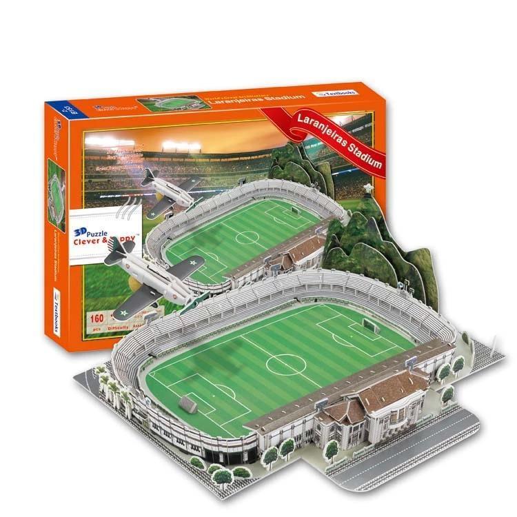3D Puzzle Estadio das Laranjeiras Stadium Fluminense ManoelSchwartz Model For Kids Educational Toy