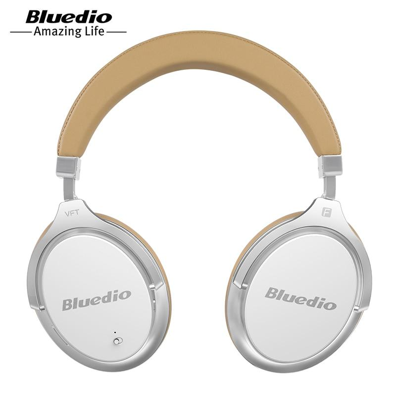 6affe4dd944 Bluedio F2 Active Noise Cancelling Wireless Bluetooth Headphones wireless  Headset with Mic