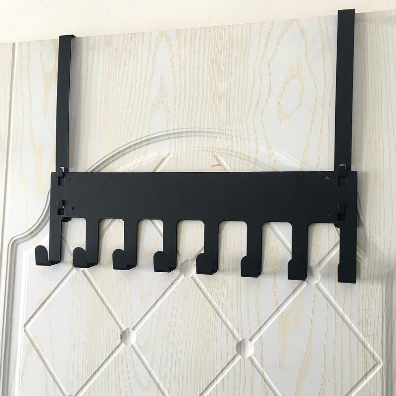 Door Clothes Rack Door Hook Wall Hangers Coat Hook Hanging on the Door of the Hook-type Hanger Hook Nailless Load-Bearing