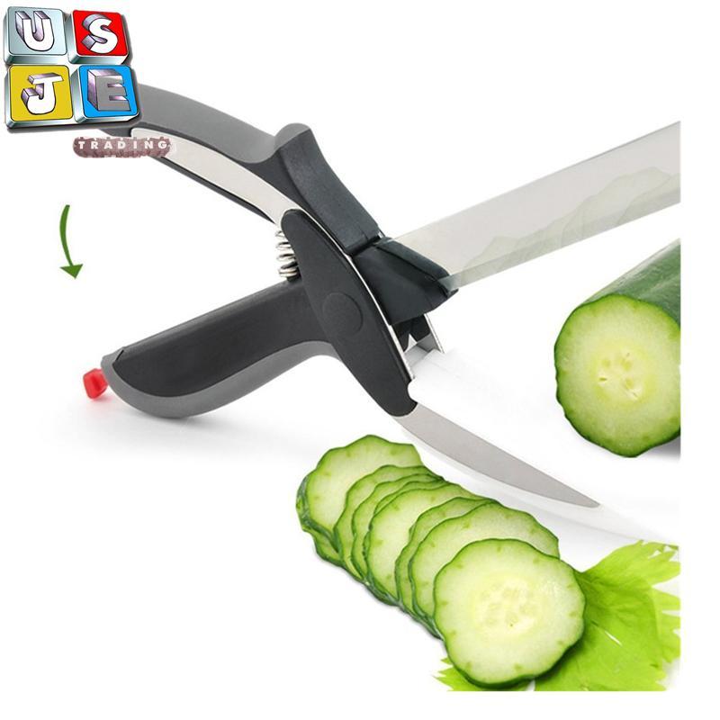 Clever Cutter 2 In 1 Food Chopper Chopping Board