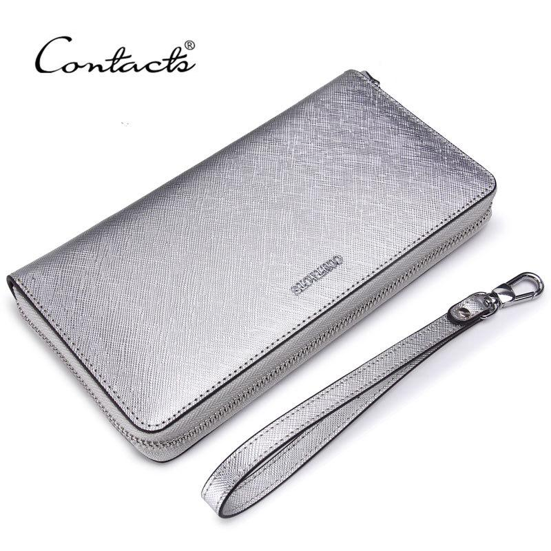 Womens Wallet Crossgrain Leather Hand Tie Mobile Phone Bag Women Wallet Coin Purse