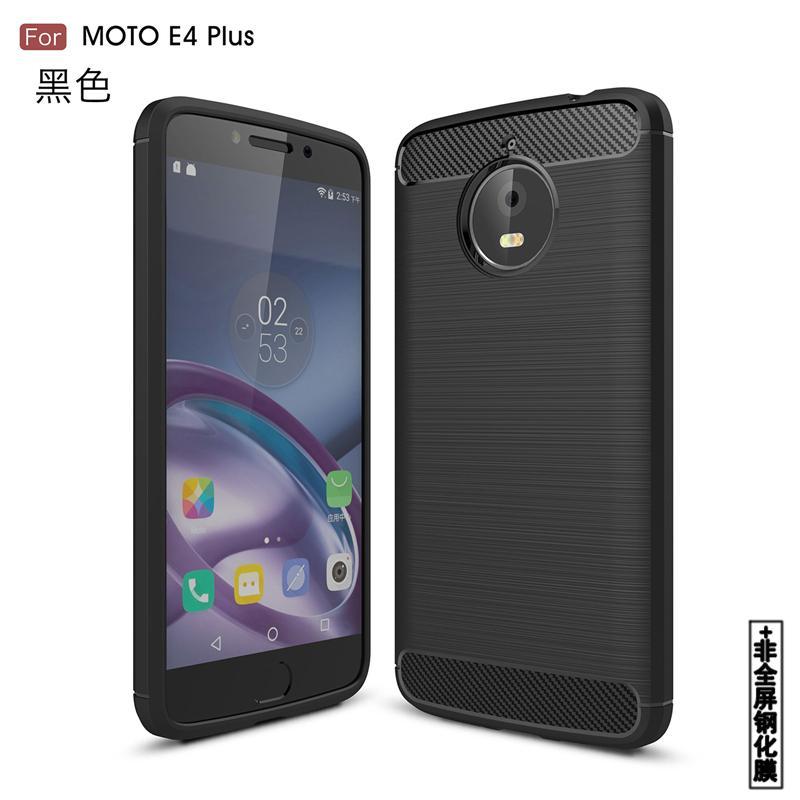 Amoy Bintang MOTO E4plus Casing HP Motorola E4 Casing XT1772 Silikon lunak xt1773 anti jatuh casing bungkus penus XT1762 modis minimalis kepribadian Pria dan wanita model baru shell pasang