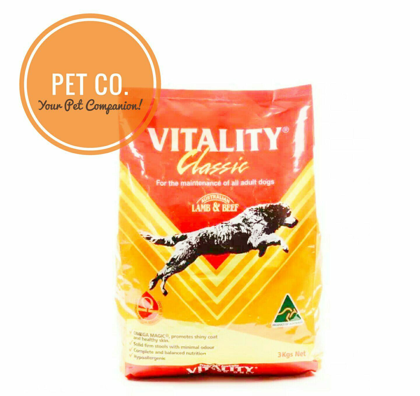 Vitality Philippines Price List Beef Lamb Dog Food For Nice Cat Repack 1kg Classic 3kgs Adult