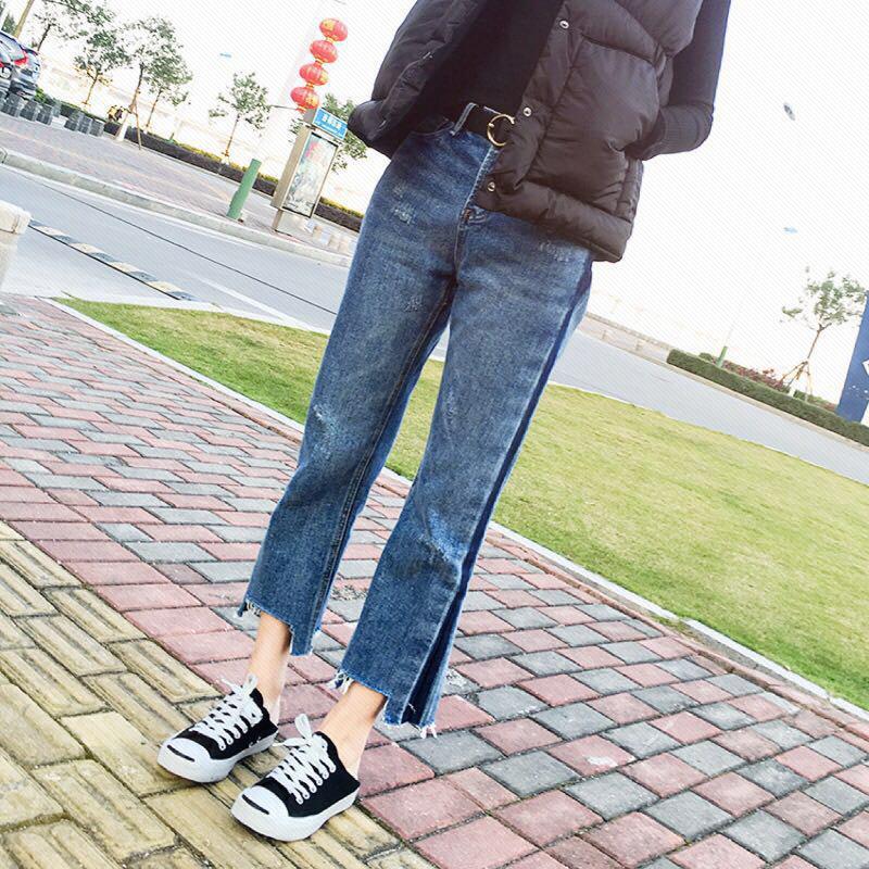MM Celana Jeans Baru Musim Semi dan Musim Gugur untuk Meningkatkan Kode Longgar