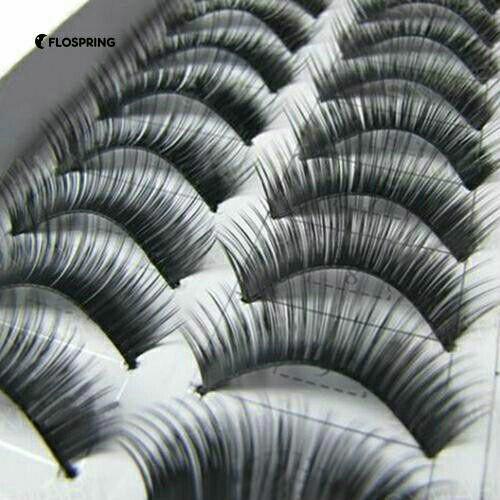 Long False eyelashes  20 pcs.  10 pairs Philippines