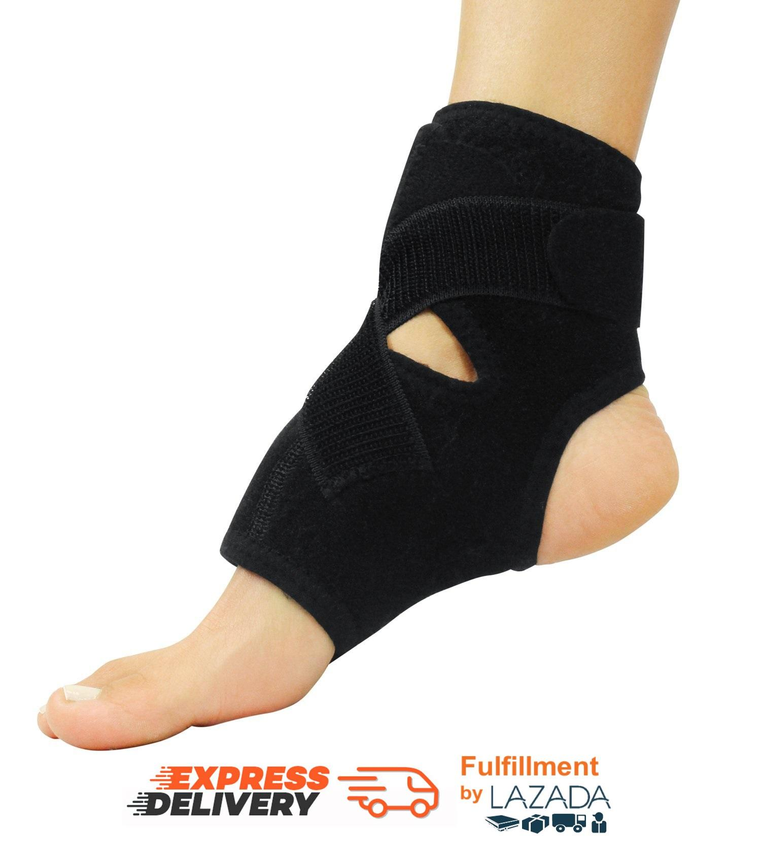 fitPH Ankle Brace - Adjustable Stabilizer Sleeve with Support Guard for Peroneal Tendonitis Running, Soccer