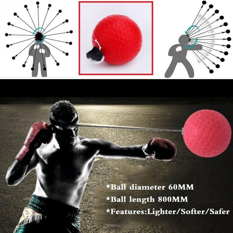 Boxing Reaction Training Ball Lomachenko Punching Ball Boxing Equipment Training Apparatus Muay Thai Boxing Trainer Accessories