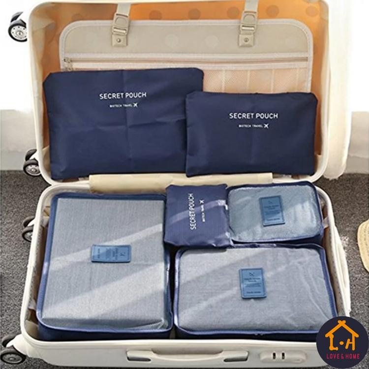 Product details of LOVE&HOME 6in1 Secret Pouch Travel Organizer Set ...