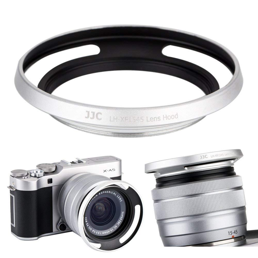 Buy Sell Cheapest Jjc Metal Lens Best Quality Product Deals Fujifilm X A5 Kit 15 45mm 35 56 Ois Pz Xf35mm F2 Brown Silver Vintage Hood For Fujinon Xc15 F35