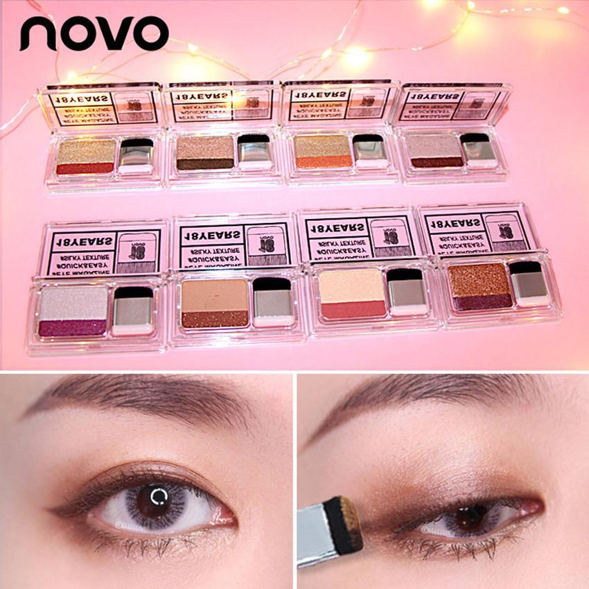 Korea NOVO Two-tone Gradient Eye Shadow Kit Eye Magazine #5225 Philippines