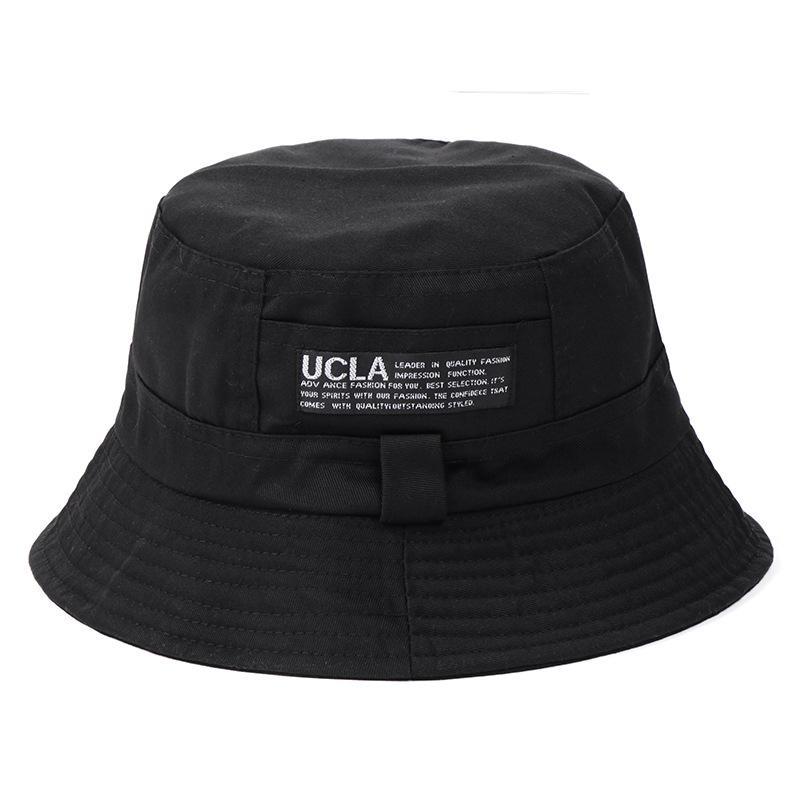 cf0242d6734 Double Faced Cotton Cap untuk Pria dan Wanita Nelayan Cap Basin Hat Tourist  Hat Modis Hat