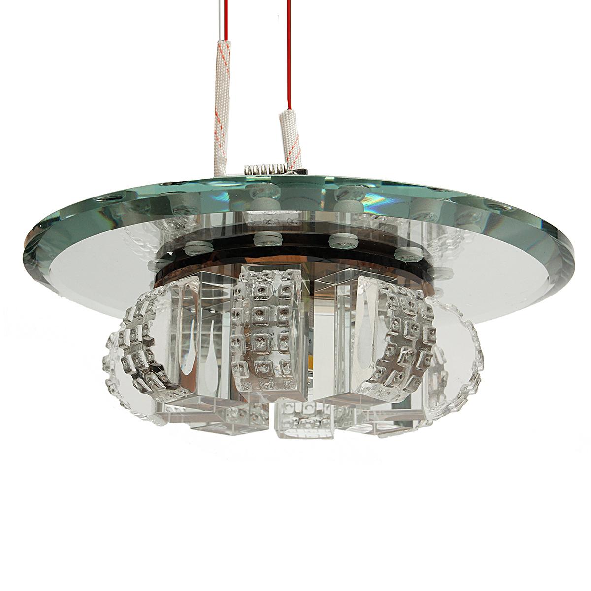 Modern Crystal LED Ceiling Light Pendant Lamp Fixture