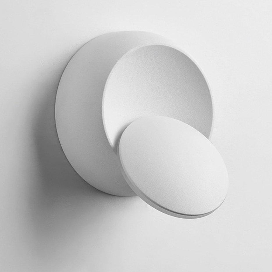 Hot Sellers Creative Bedside Wall Lamp Modern Round LED Wall Lamp Bedroom Night Light
